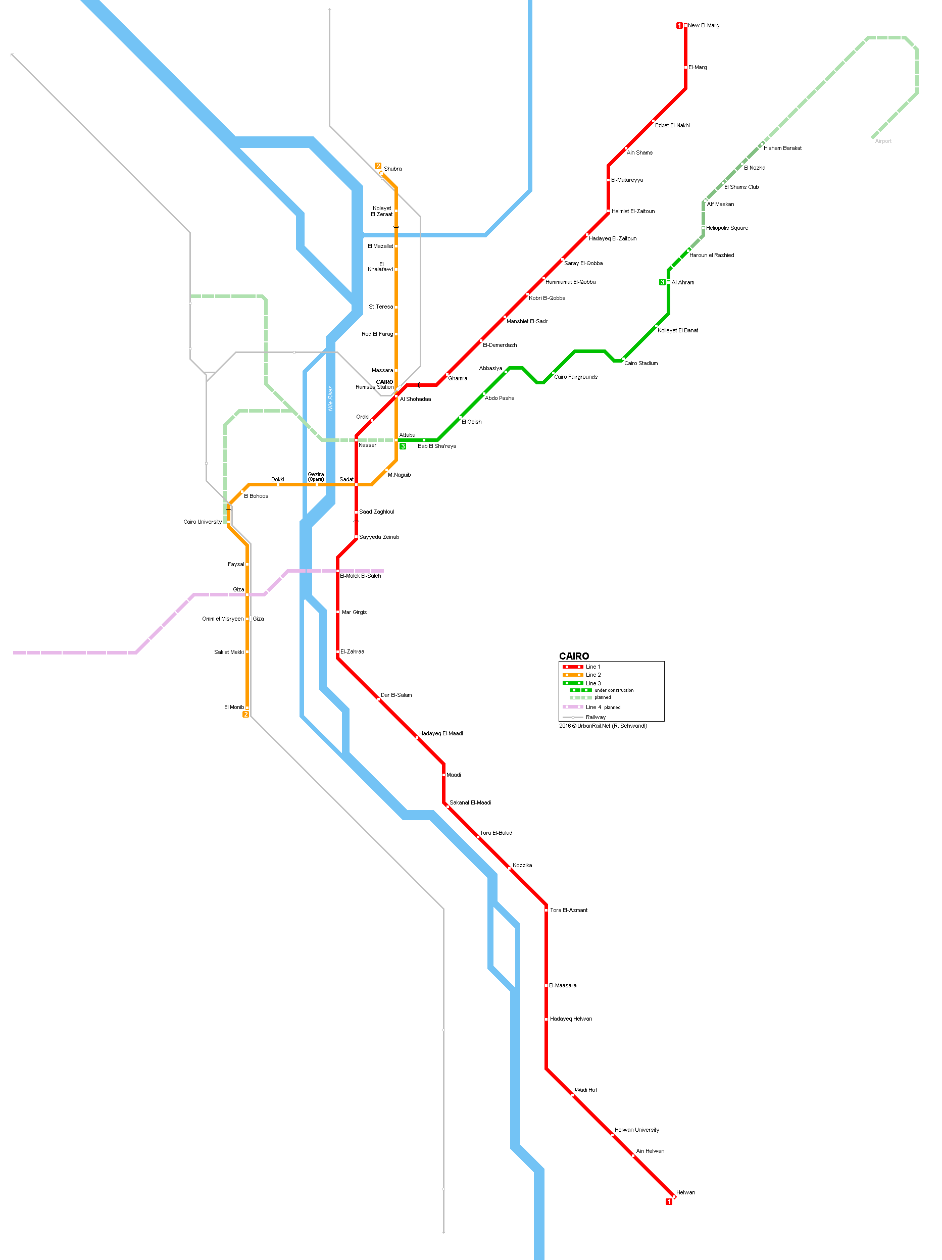 Prague Metro Map Pdf.Metro In Cairo Map 2019 Lines Stations And Tickets